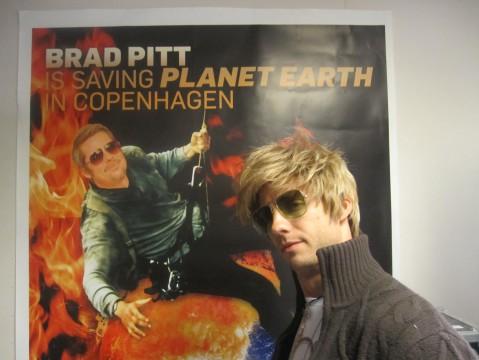Casting as Brad Pitt